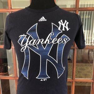 Adidas T Shirt NY Yankees
